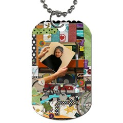 Keira  By Eva    Dog Tag (two Sides)   Ahp47qamjcq2   Www Artscow Com Back