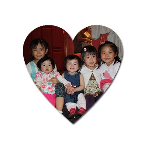 5 Lil  Princess By Ni Chan   Magnet (heart)   0jhyqwbbpwrd   Www Artscow Com Front