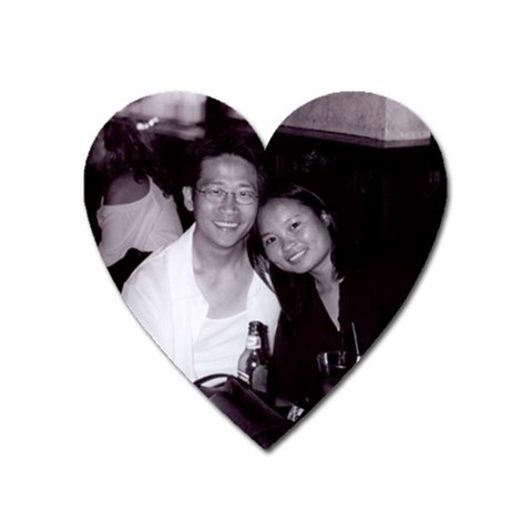 Anniversary By Ann   Magnet (heart)   Oti9lctrvw5i   Www Artscow Com Front