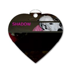 Shadow s Tag By Amy Losh   Dog Tag Heart (two Sides)   K9lzrhf1t33m   Www Artscow Com Front