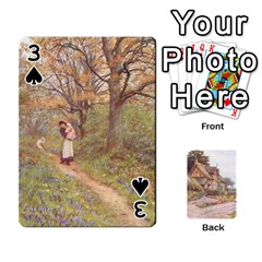 Helen Allington By Helen Norton By Helen   Playing Cards 54 Designs   B8uglnmor4y8   Www Artscow Com Front - Spade3