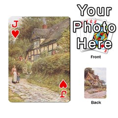 Jack Helen Allington By Helen Norton By Helen   Playing Cards 54 Designs   B8uglnmor4y8   Www Artscow Com Front - HeartJ