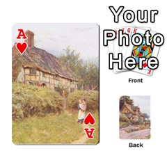 Ace Helen Allington By Helen Norton By Helen   Playing Cards 54 Designs   B8uglnmor4y8   Www Artscow Com Front - HeartA