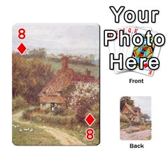 Helen Allington By Helen Norton By Helen   Playing Cards 54 Designs   B8uglnmor4y8   Www Artscow Com Front - Diamond8