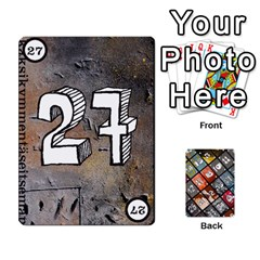 Geschenkt P2 By Justin Calvert   Playing Cards 54 Designs   Wysk4ziydy01   Www Artscow Com Front - Diamond2