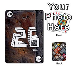 Geschenkt P2 By Justin Calvert   Playing Cards 54 Designs   Wysk4ziydy01   Www Artscow Com Front - Club4