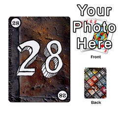 Geschenkt P2 By Justin Calvert   Playing Cards 54 Designs   Wysk4ziydy01   Www Artscow Com Front - Club6