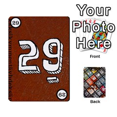 Geschenkt P2 By Justin Calvert   Playing Cards 54 Designs   Wysk4ziydy01   Www Artscow Com Front - Club7