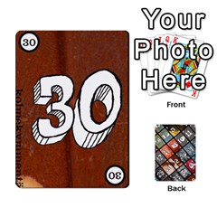 Geschenkt P2 By Justin Calvert   Playing Cards 54 Designs   Wysk4ziydy01   Www Artscow Com Front - Club8