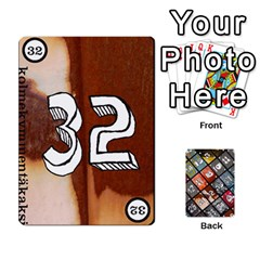 Geschenkt P2 By Justin Calvert   Playing Cards 54 Designs   Wysk4ziydy01   Www Artscow Com Front - Club10