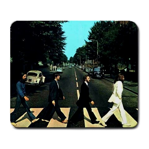 Abbey  Road By Kasie   Large Mousepad   C03mytj8z42g   Www Artscow Com Front