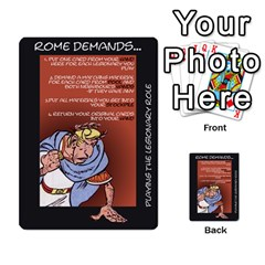 These Romans Are Crazy D1 By Ben   Multi Purpose Cards (rectangle)   Ud1g8vovq8ca   Www Artscow Com Front 1