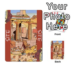 These Romans Are Crazy D1 By Ben   Multi Purpose Cards (rectangle)   Ud1g8vovq8ca   Www Artscow Com Back 27
