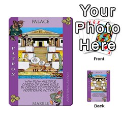 These Romans Are Crazy D1 By Ben   Multi Purpose Cards (rectangle)   Ud1g8vovq8ca   Www Artscow Com Front 46