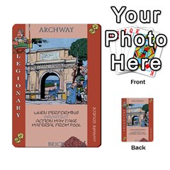 These Romans Are Crazy D1 By Ben   Multi Purpose Cards (rectangle)   Ud1g8vovq8ca   Www Artscow Com Front 48