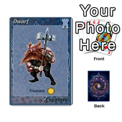 12 Realms By Ignazio Corrao   Playing Cards 54 Designs   G89cmjspx91g   Www Artscow Com Front - Heart2