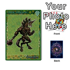 12 Realms By Ignazio Corrao   Playing Cards 54 Designs   G89cmjspx91g   Www Artscow Com Front - Club2