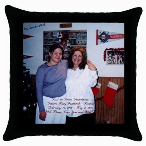 Pillow By Krystal Gosch   Throw Pillow Case (black)   8n8ib12z5dky   Www Artscow Com Front