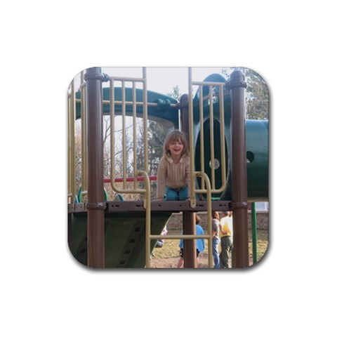Leah Coaster By Hmbelden   Rubber Coaster (square)   3yvkkvjn60qm   Www Artscow Com Front