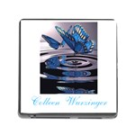 butterflies - Memory Card Reader (Square)