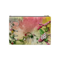 Bolsinha De Cosmeticos By Vivis   Cosmetic Bag (medium)   Jp1vn57eyary   Www Artscow Com Back