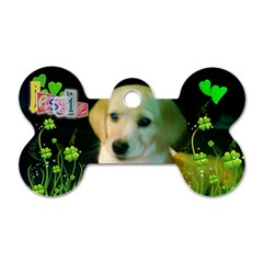 Jessie  :) By Rebecca Taylor   Dog Tag Bone (two Sides)   6lragjjwvmgm   Www Artscow Com Front