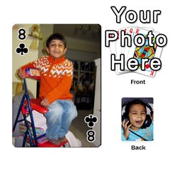 Lakshya Cards1 By Anshu   Playing Cards 54 Designs   Bru3f84ux2c6   Www Artscow Com Front - Club8