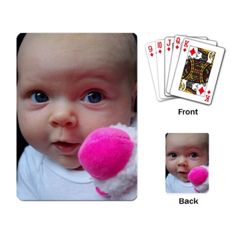 Anya Cards By Krissy Yaedke   Playing Cards Single Design   Hnfwpjm4u50t   Www Artscow Com Back