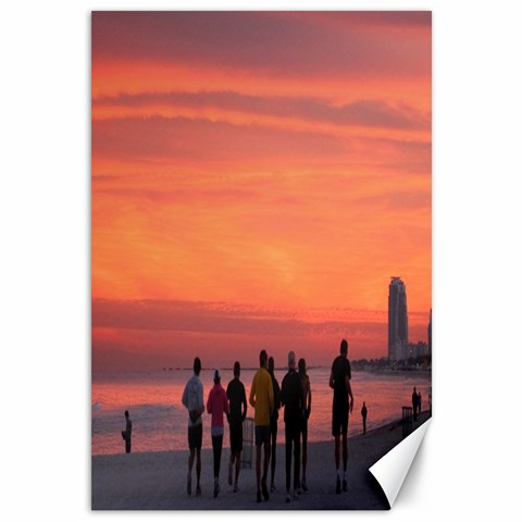 Sobe Sunset By Creve   Canvas 12  X 18    Dqv7fbrbexyw   Www Artscow Com 18 x12 Canvas - 1