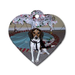 Connie s Dog Tag By Roger Garstang   Dog Tag Heart (two Sides)   S3es4038dy4z   Www Artscow Com Front