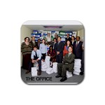 The Office Coasters - Rubber Coaster (Square)