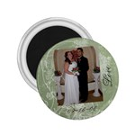 John & Amy - 2.25  Magnet