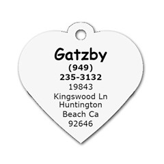 Gatzby Tag By Destiny Johansen   Dog Tag Heart (two Sides)   3jngx87nitfm   Www Artscow Com Back
