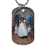 Addy & Phoenix at DisneyLand - Dog Tag (Two Sides)