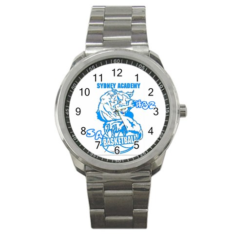 Watch For Marissa #32 By Jean Guy Demeter   Sport Metal Watch   V1x5u6m03sah   Www Artscow Com Front
