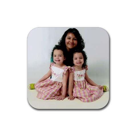 By Amy Chicas   Rubber Coaster (square)   0vcolop8d2dn   Www Artscow Com Front