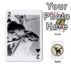Dads Wwii Deck By Matt   Playing Cards 54 Designs   Vu00sztcu18g   Www Artscow Com Front - Spade2