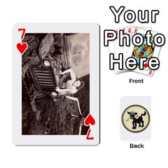 Dads Wwii Deck By Matt   Playing Cards 54 Designs   Vu00sztcu18g   Www Artscow Com Front - Heart7