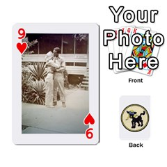 Dads Wwii Deck By Matt   Playing Cards 54 Designs   Vu00sztcu18g   Www Artscow Com Front - Heart9