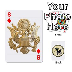 Dads Wwii Deck By Matt   Playing Cards 54 Designs   Vu00sztcu18g   Www Artscow Com Front - Diamond8