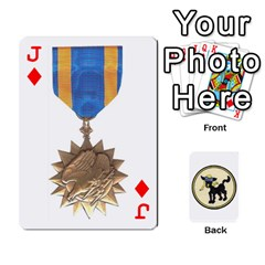 Jack Dads Wwii Deck By Matt   Playing Cards 54 Designs   Vu00sztcu18g   Www Artscow Com Front - DiamondJ