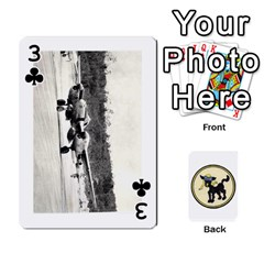 Dads Wwii Deck By Matt   Playing Cards 54 Designs   Vu00sztcu18g   Www Artscow Com Front - Club3