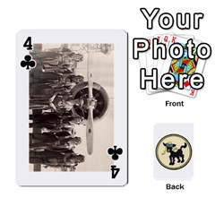 Dads Wwii Deck By Matt   Playing Cards 54 Designs   Vu00sztcu18g   Www Artscow Com Front - Club4
