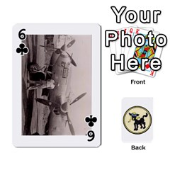 Dads Wwii Deck By Matt   Playing Cards 54 Designs   Vu00sztcu18g   Www Artscow Com Front - Club6