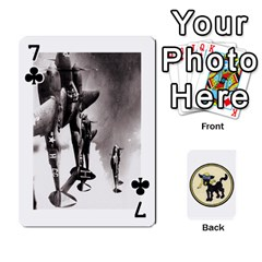 Dads Wwii Deck By Matt   Playing Cards 54 Designs   Vu00sztcu18g   Www Artscow Com Front - Club7