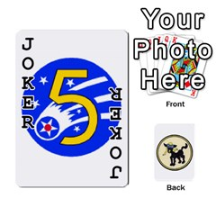 Dads Wwii Deck By Matt   Playing Cards 54 Designs   Vu00sztcu18g   Www Artscow Com Front - Joker1