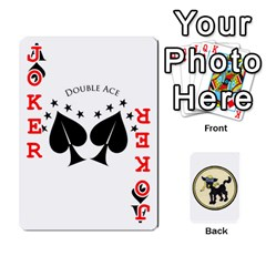 Dads Wwii Deck By Matt   Playing Cards 54 Designs   Vu00sztcu18g   Www Artscow Com Front - Joker2