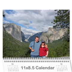 Calendar I Made For Us! By Holly   Wall Calendar 11  X 8 5  (12 Months)   33u7833dx11j   Www Artscow Com Cover