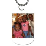 Taking my kids everywhere I go... - Dog Tag (One Side)