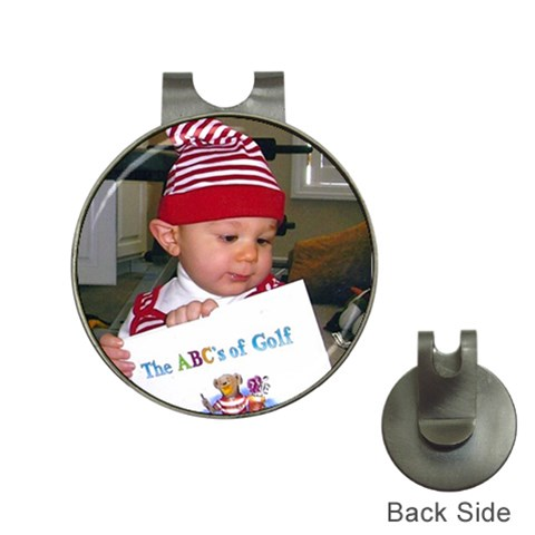 By Gloria Mertie   Golf Ball Marker Hat Clip   I8mnfb2tooye   Www Artscow Com Front